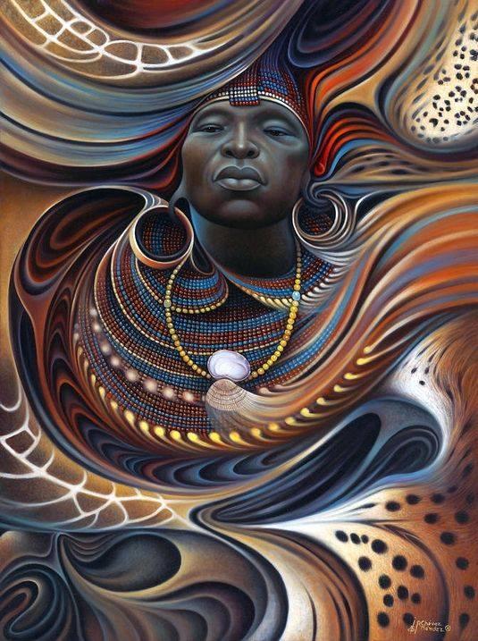 African Spirits 2 by Ricardo Chávez-Méndez