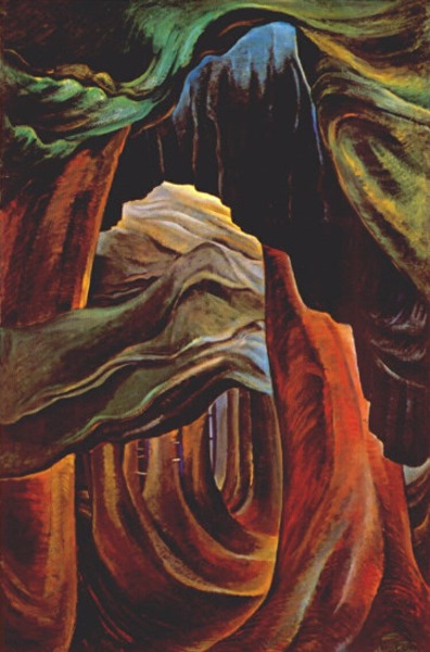 Forest, British Columbia 1931-2 by Emily Carr