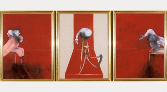 Three Studies - Second Version of Triptych 1944 (1988)