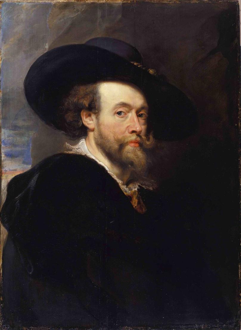 Peter Paul Rubens Self-Portrait