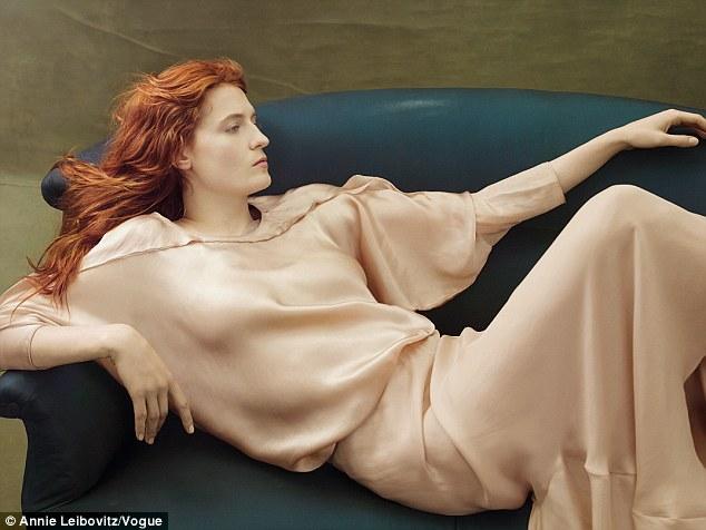 Florence Welch Annie Leibovitz Vogue