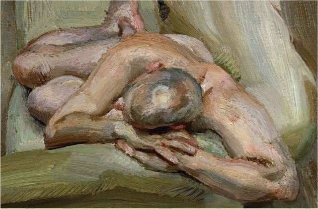 Lucian Freud sleeping nude