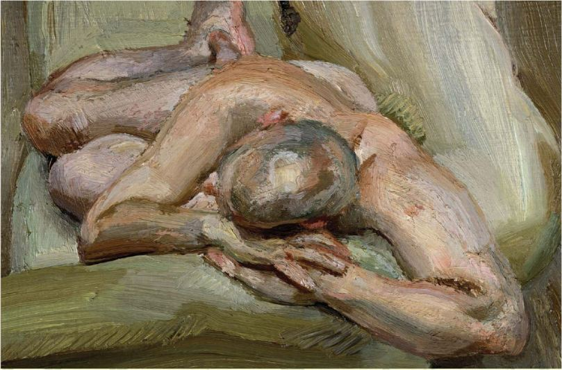 Lucian Freud sleeping nude