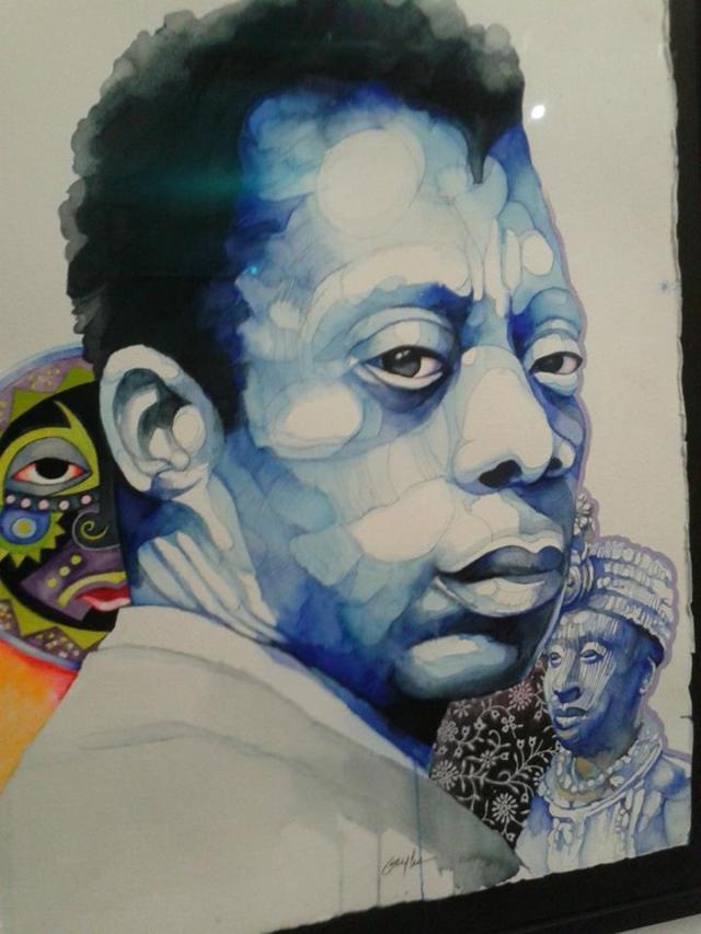 James Baldwin Art