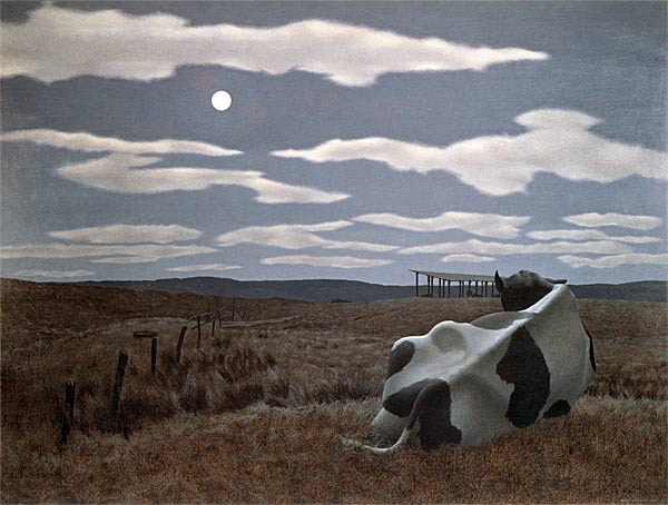 Moon and cow 1963