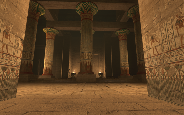 egyptian palace