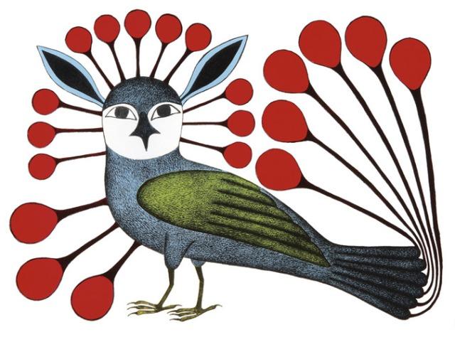 Vigilant Owl 2007 ed 50 lithograph 22.5 x 30
