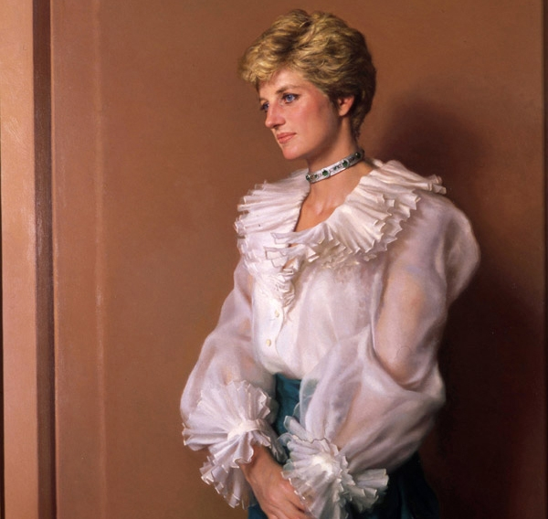 Diana-Princess-of-Wales-Nelson Shanks 1994 oil on canvas