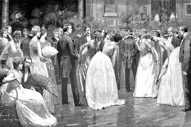 A Christmas Dance - The Lancers 1889