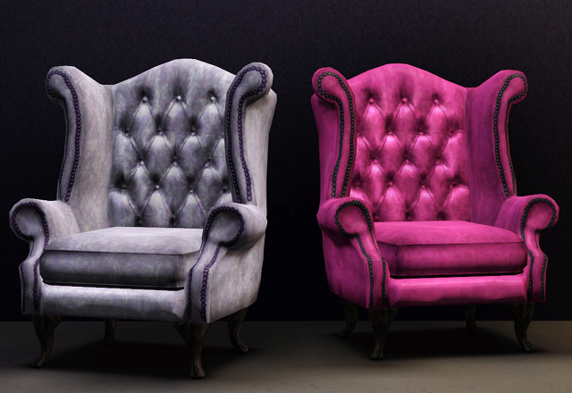 A couple of queen anne armchairs