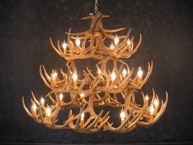 a stag light arrangement