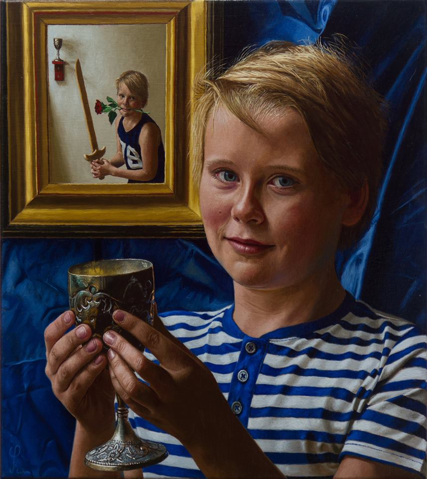 The Holy Grail - Portrait of Jacob