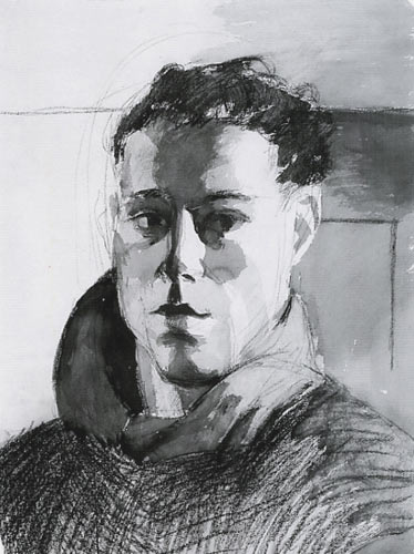 Hugh Steers Self Portrait 1987