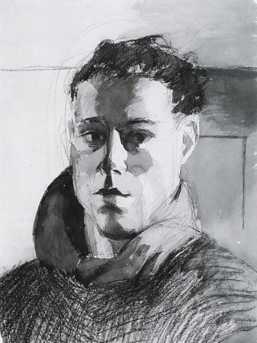 Hugh Steers Self Portrait 1987