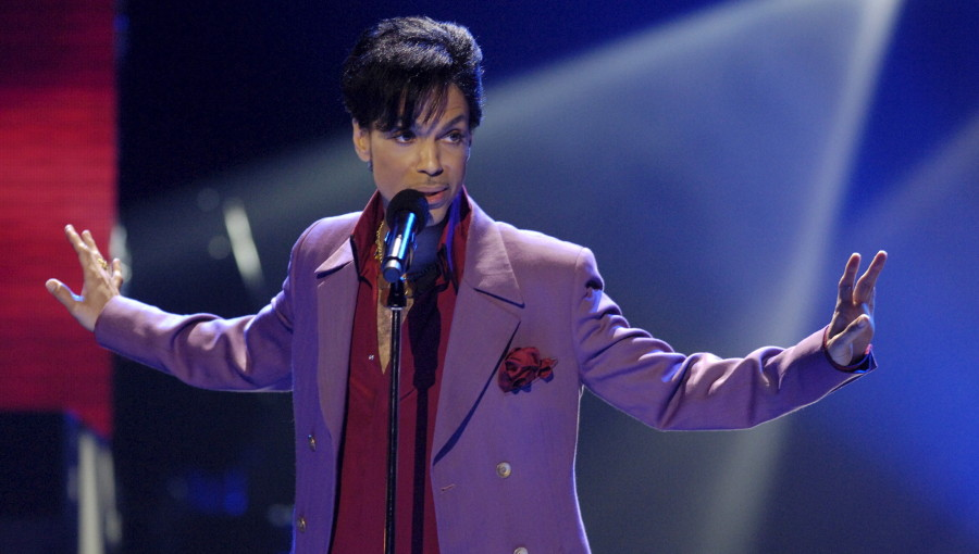 """File photo of singer Prince performing during """"American Idol"""" finale at Kodak Theater in Hollywood"""