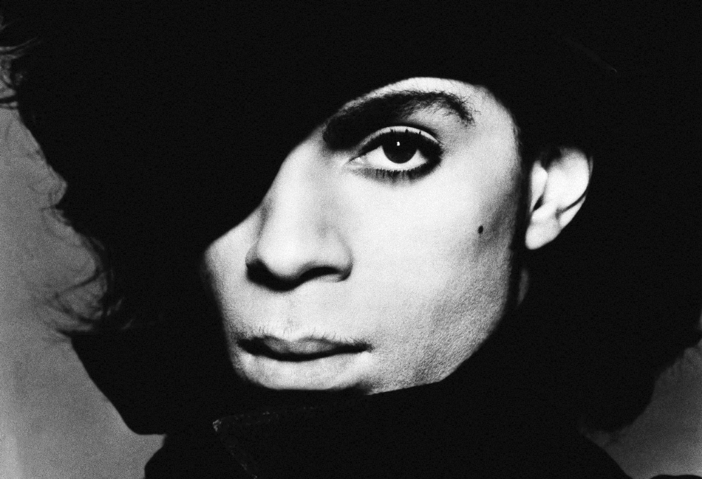 Singing star Prince shown in this undated photo.  (AP Photo)