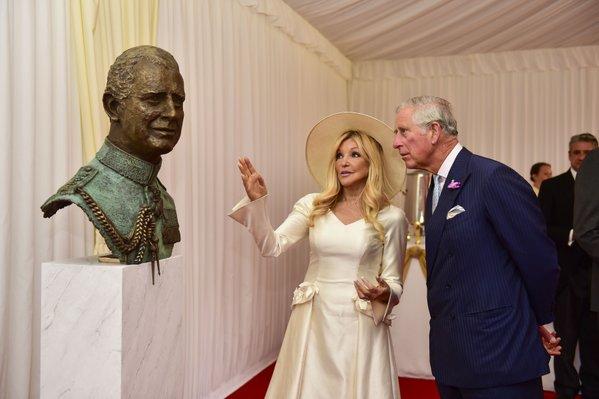 HRH Charles, Prince of Wales & Frances Segelman