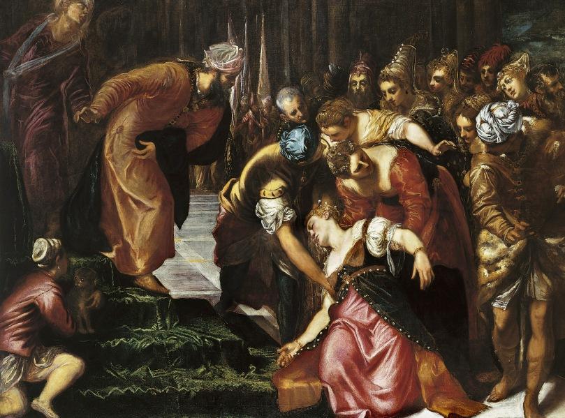 Esther_before_Ahasuerus_(1547-48);_Tintoretto,_Jacopo