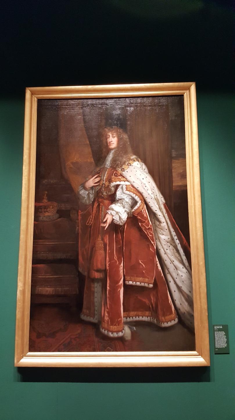 HM King James II when HRH Prince James Duke of York