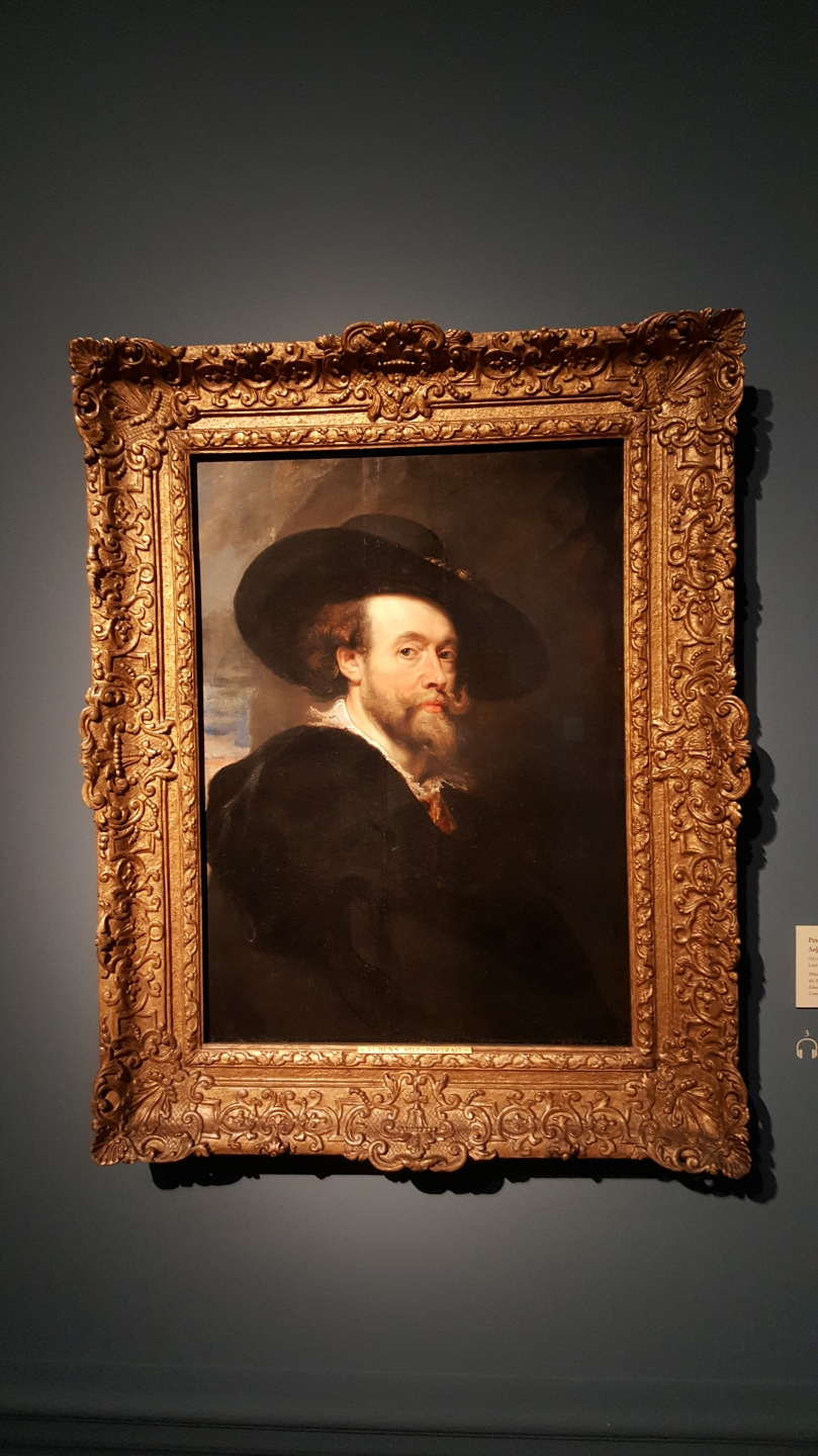 Sir Peter Paul Rubens Self-Portrait Oil on Canvas
