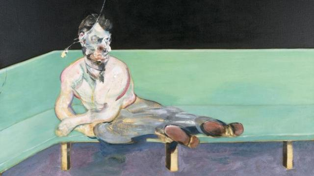 Study for Portrait of Lucian Freud Francis Bacon