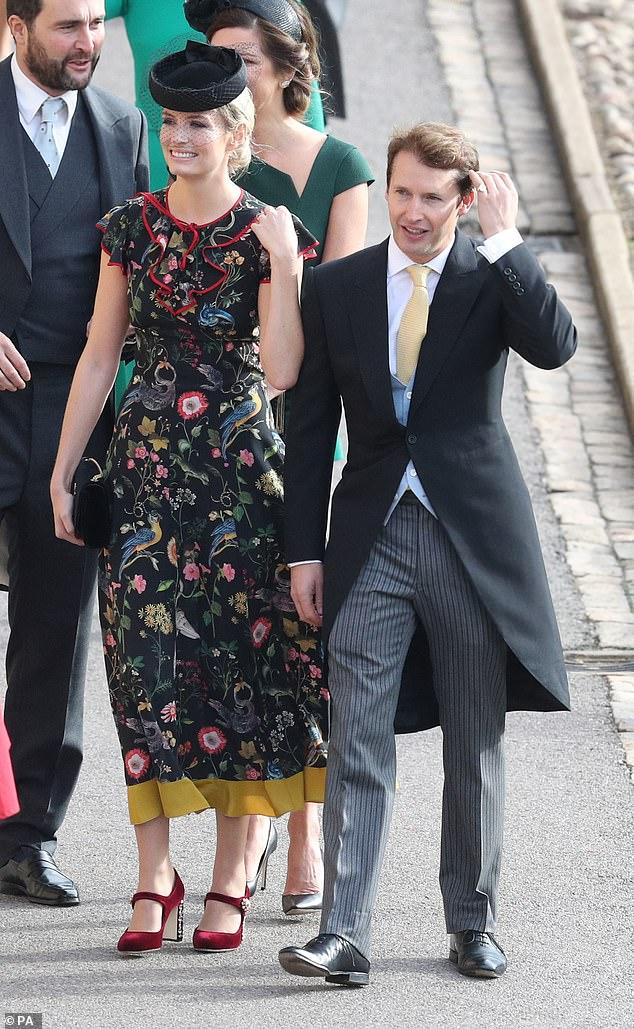 Sophia Wellesley & James Blunt