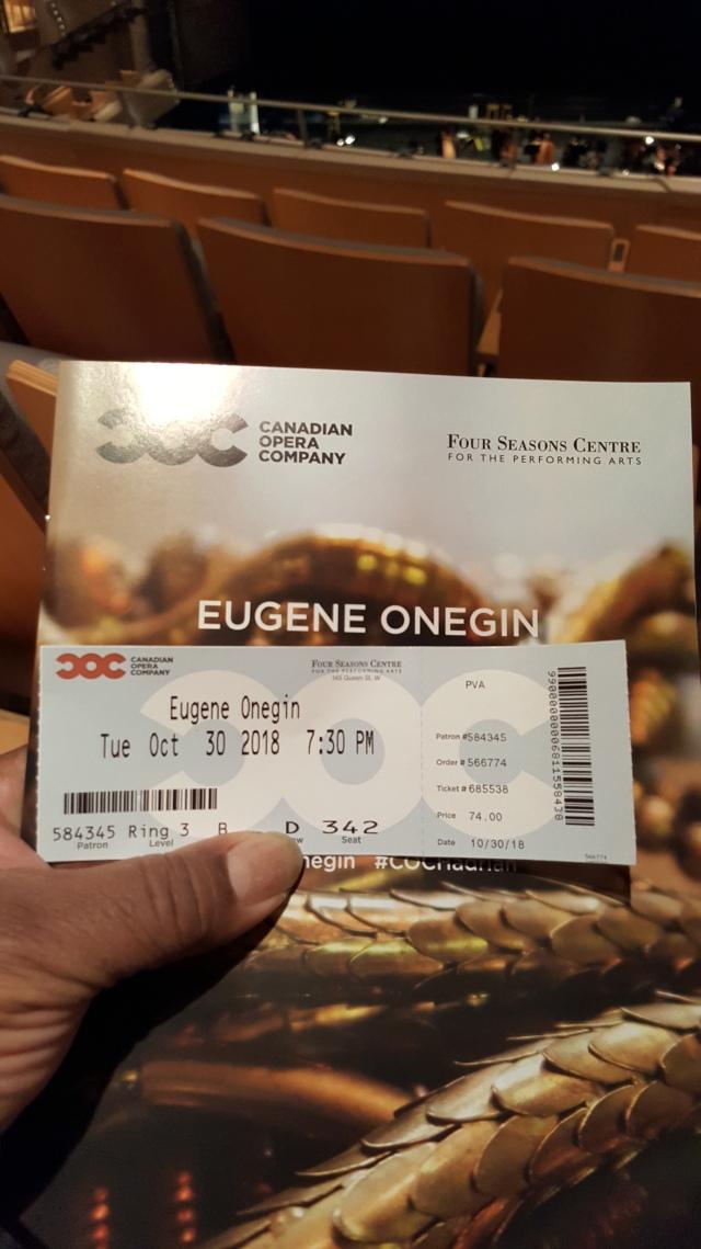 Ticket Onegin